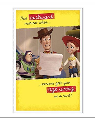 Tarjeta de cumpleaños de Disney Toy Story