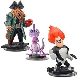 Disney Infinity Villains Figure Set - Davy Jones, Randy and Syndrome - Pre-Order