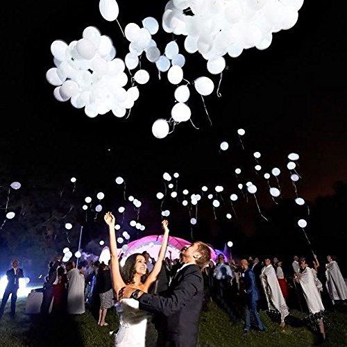 Luftballons 32 Stück Gemischte Farbe für Hochzeitsfest Weihnachten Geburtstag (32PCS) (Hochzeit Ballon)