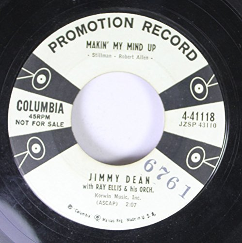 jimmy-dean-with-ray-eliis-hi-orch-45-rpm-makin-my-mind-up-starlight-starbright