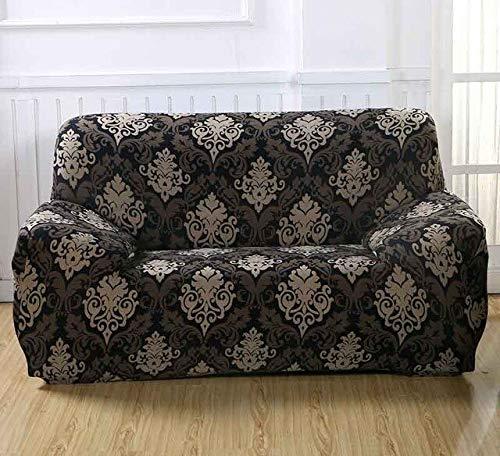 FIOLTY Sofa für Lig Zimmer Moderner Sofa-Abdeckung elastischer Polyester Sofa Abdeckung Möbel-Schutz Polyester Love Seat Couch Cover: 07, Dreisitzer