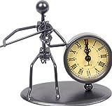 Gewa 980702 Sculpture avec horloge Motif Violon