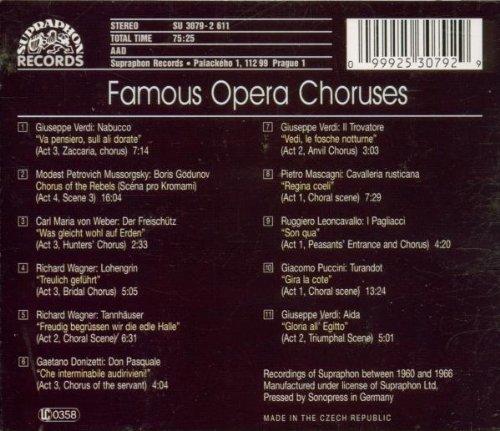 Choeurs célèbres d'opéras