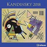 Kandinsky 2018 - Kunstkalender, Wandkalender, Broschürenkalender, Surrealismus  -  30 x 30 cm - Wassily Kandinsky