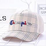 QQYZ Kinder Baseball Mütze Schuljunge Hut Große Kind Mütze Altes Kind Sommer Netz Hut Sonne Hut Sommer Du