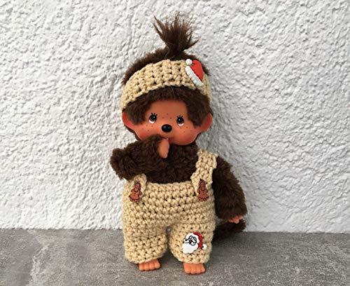 Hose und Stirnband für Monchichi 20 cm Weihnachten sofort lieferbar !!!