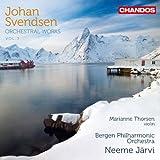 Svendsen: Orchestral Works Vol. 3: Neeme Järvi, Marianne Thorsen