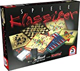 Schmidt Spiele 49120 49120-Klassiker Spielesammlung, bunt (Spielzeug)