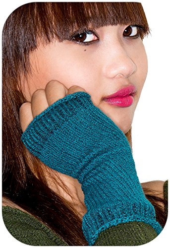 2453185d9f972 Soft Stretch Knit Cotton Hand Warmers w  Thumb Hole by KD dance New York -