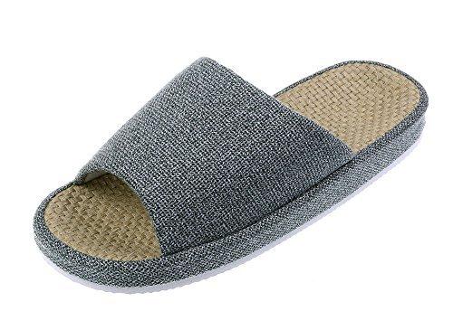 bronze-times-tm-premium-summer-tatami-non-slip-cotton-flax-house-slippers-grey