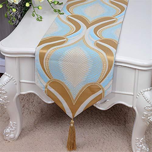 Preisvergleich Produktbild painting LIUYU Europäische Stil Luxus Tisch Flagge Stilvolle und Einfache Idyllische Lange Tabellen Tabelle 33 * 200 cm Flagge