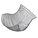 DESIGNER DELIGHTS Obstkorb 'SALOMON', 37 x 27 cm, metall silber verchromt