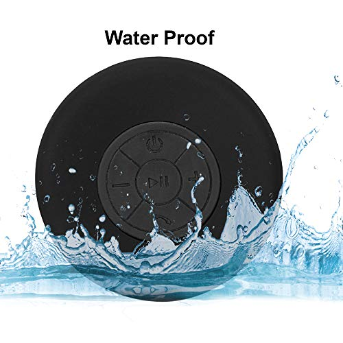 Tronica Wave-119 Water Proof Bluetooth Speaker (Black)