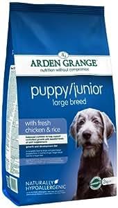 Arden Grange Chicken and Rice Puppy/Junior Large Breed Dog Food - 12 kg