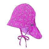 Sterntaler 1411825 Schirmmütze Sommermütze mit Nackenschutz