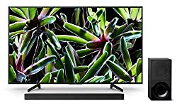 Sony KD-55XG7005 Bravia 55 Zoll (138,8cm) Fernseher (Ultra HD, 4K HDR, Smart TV, USB HDD Recording) schwarz Plus HT-XF9000 2.1-Kanal Dolby Atmos/DTS:X Soundbar Schwarz