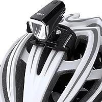 Crops Lum100 Luce Bicicletta LED Ricaricabile – Supporto per Caschetto E Manubrio Incluso - Tecnologia Fascio Grandangolare - 3 Modalità di Luce – 100 Lumen – Sport Mountain Bike Bici da Corsa