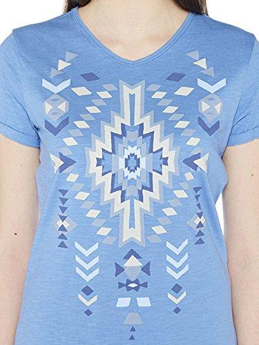 Colorado Denim Damen T-Shirts Gina Blau (indigo Light 6080)
