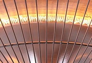 Firefly 1.5kW Ceiling Hanging Electric Halogen Garden Outdoor Patio Heater