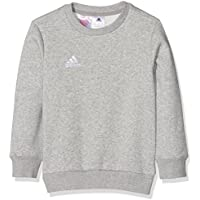 Adidas Felpa Coref Swt to Y, da bambino, Bambini, Sweatshirt Coref swt to y, Grigio medio, bianco, 152