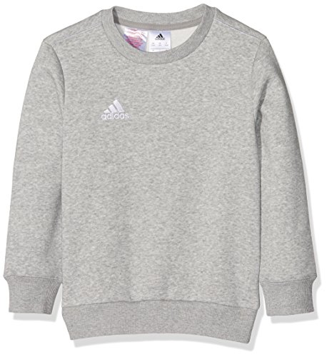 adidas Kinder Sweatshirt Coref swt to y, medium grau heather/Weiß, 128, S22333 Preisvergleich