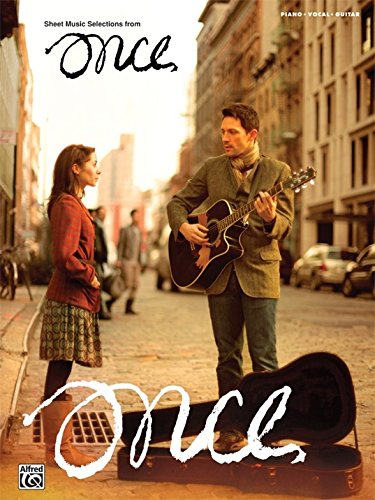 Once: Sheet Music From The Broadway Musical. Partitions pour Piano, Chant et Guitare