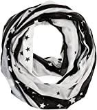 s.Oliver Damen Trilby 38.899.91.3670, Schwarz (Grey/Black AOP 99b1), One Size (Herstellergröße: 1)