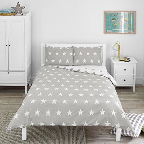 Bloomsbury Mill - Juego de cama para niño - Funda nórdica y funda de almohada 200cm x 200cm - Estampado...