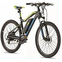 Greenway eléctrico para bicicleta de montaña, Panasonic celdas de litio recargable LCD, sistema de pas