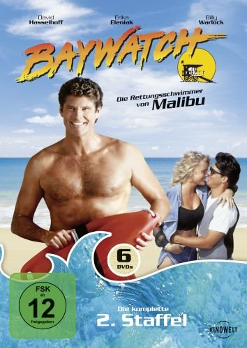 Baywatch - Die komplette 2. Staffel (6 DVDs)