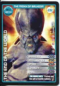 Doctor Who Monster Invasion Extreme Common Card #232 The Moxx Of Balhoon