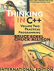 Thinking in C++: Practical Programming v. 2 by Bruce Eckel (2003-07-01)
