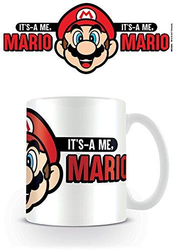 Nintendo Super Its A Me Mario Coffee Mug Kaffeetassen, Keramik, Mehrfarbig, 7.9 x 11 x 9.3 cm