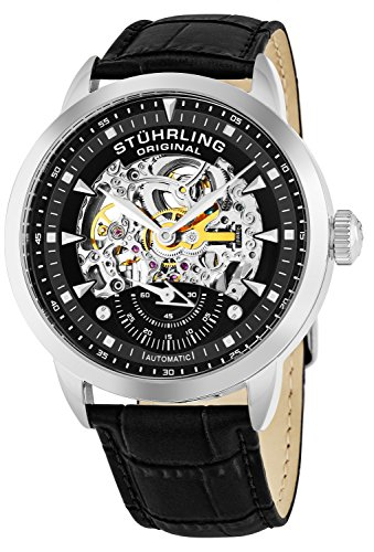 Stuhrling Original Symphony Analog Black Dial Men's Watch - 133.33151 image
