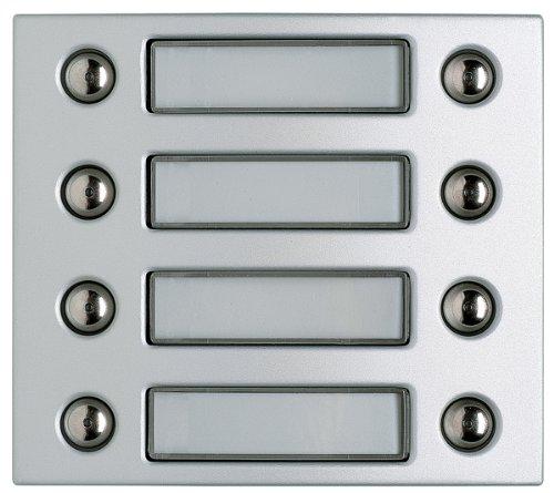 Legrand 332481 Door Entry Panel Cover Button Modules 8 Buttons Aluminium