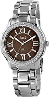 Just Watches 48-S9243-BR - Reloj de Pulsera Mujer, Acero Inoxidable, Color Plateado de Just Watches