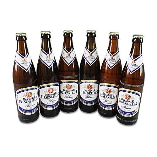 Dresdner Felsenkeller Pilsner (6 Flaschen à 0,5 l / 4,8% vol.) (Pilsner Bier)