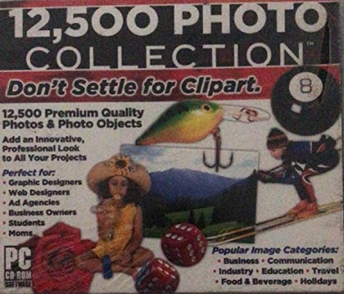 12500 Photo Collection [Don't Settle For Clipart]