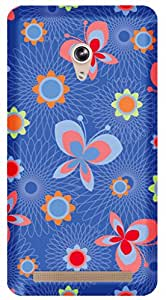 TrilMil Printed Designer Mobile Case Back Cover For Asus Zenfone 6