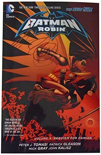 Batman and Robin Volume 4: Requiem for Damian TP (The New 52) by Peter J Tomasi (2014-12-11)