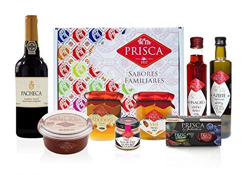 cesta-gourmet-oporto-8-produtos-y-cesta-vino-de-oporto-tawny-quinta-da-pacheca-duero-aceite-de-oliva