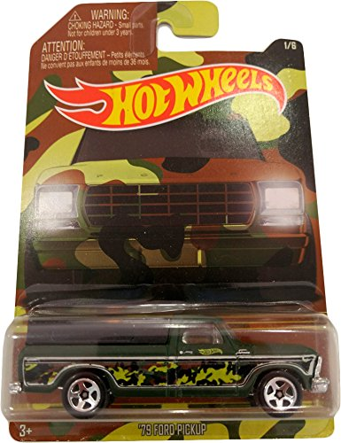 Hot Wheels '79 Ford Pickup - Serie Camouflage 1/6 (Long card)