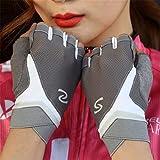 STZHIJIA Die Hälfte Finger Handschuhe Weiblichen Outdoor Sport Reiten Rutschfeste