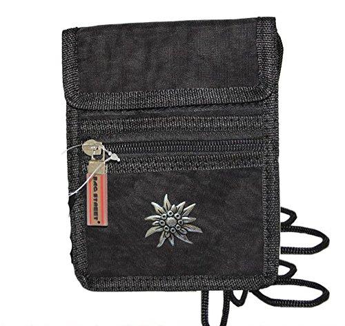Damen Trachten Tasche Handtasche Geldbörse Etui mit Edelweiss 2213