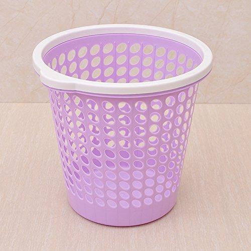 Kein Müll kann das Wohnzimmer Küche Badezimmer Schlafzimmer ausgesetzt Haushalt Latrinen mit Druck, kleine und große, mit einem Hochdruckreiniger - Lila Abdeckung