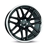 KESKIN KT14 MATT BLACK STEEL LIP 8,5x20 ET30 5.00x120.00 Hub Hole 72.60 mm - Alu felgen