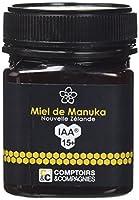 Défenses naturelles, assainit la sphère o.r.l. Miel de Manuka UMF/IAA 15+ COMPTOIRS § COMPAGNIES est un miel originaire de Nouvelle Zélande, connu pour ses propriétés uniques au monde.Antiseptique, antifongique et antibactérien, le miel de manuka aid...