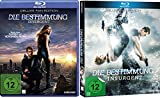 Die Bestimmung - Divergent und Insurgent (Teil 1 + 2) im Set - Deutsche Originalware [2 Blurays]