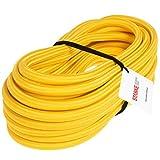 Seilwerk STANKE Corde en Caoutchouc Jaune 10 mm 20 m - Corde en Caoutchouc Corde Extensible Corde pour Fixer des Bâches