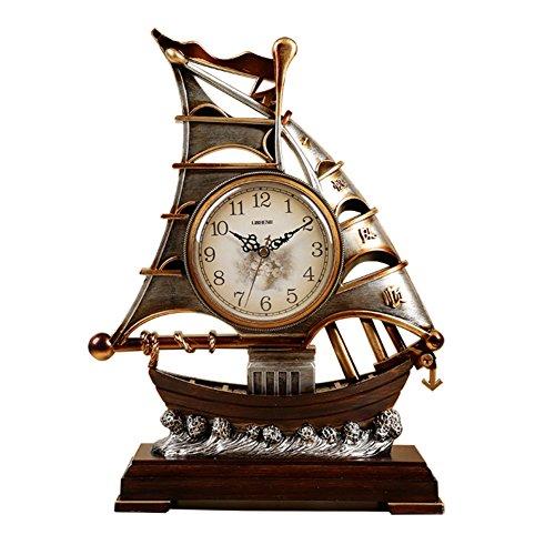 Die Wohnzimmer-uhr,Segel-uhren,Dekoration Fashion Pastoral Desktop Clock